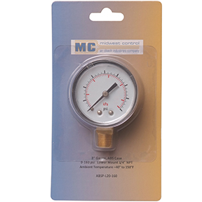 ABS Gauges Retail Packaged