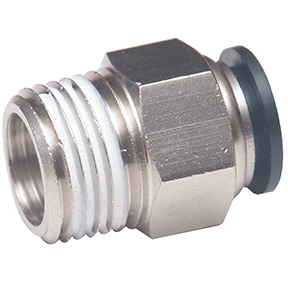 "1/4"" MPT x 3/8"" OD Tube Push-to-Connect Fitting"