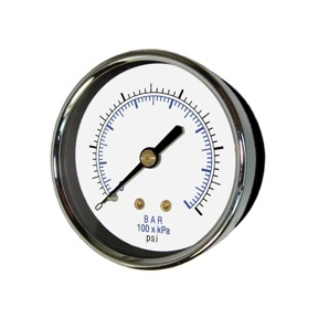 Center Back Mount Vaccum Gauges