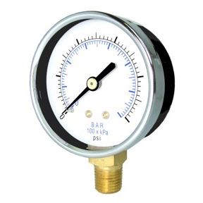 Lower Mount Vacuum Gauges